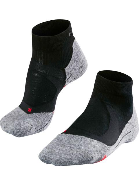 Falke RU4 Cushion Hardloopsokken Heren grijs/zwart